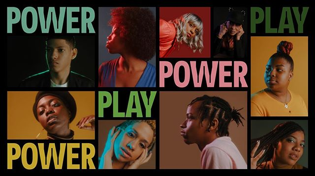 Today we open PowerPlay at @theshedny ! This show has seen so much, has gone through many phases until we realized that telling the truth was all that mattered. Come see three generations of artists tell their black ass/latinx ass stories! Tonight we are SOLD OUTTT! (900 seats lord) But tomorrow there are still a few! Im giving out free tkts to a few folks 😉, DM me for the hookup!  Check the link in my bio for more info. #powerplay
