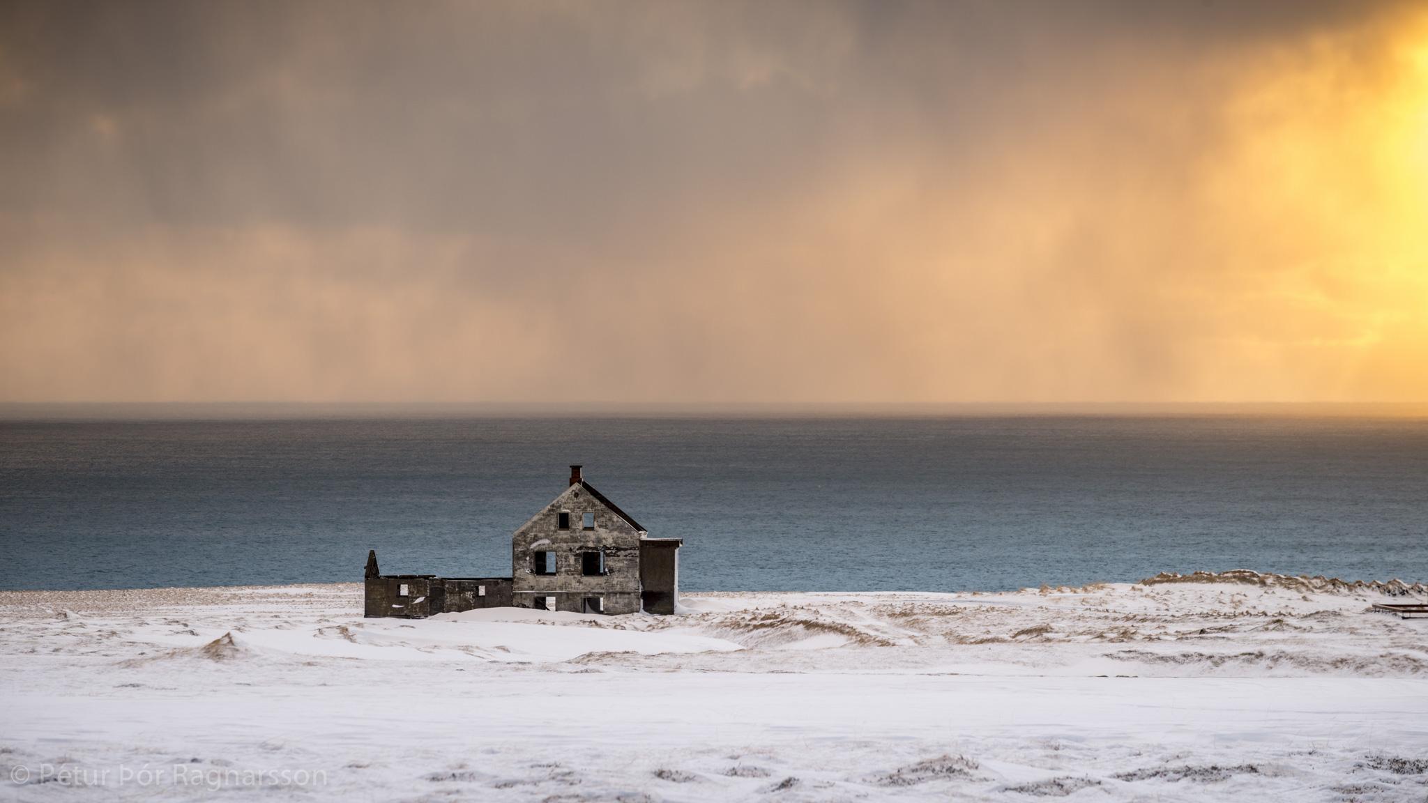 Deserted farmhouse, Dagverðará, Snæfellsnes peninsula
