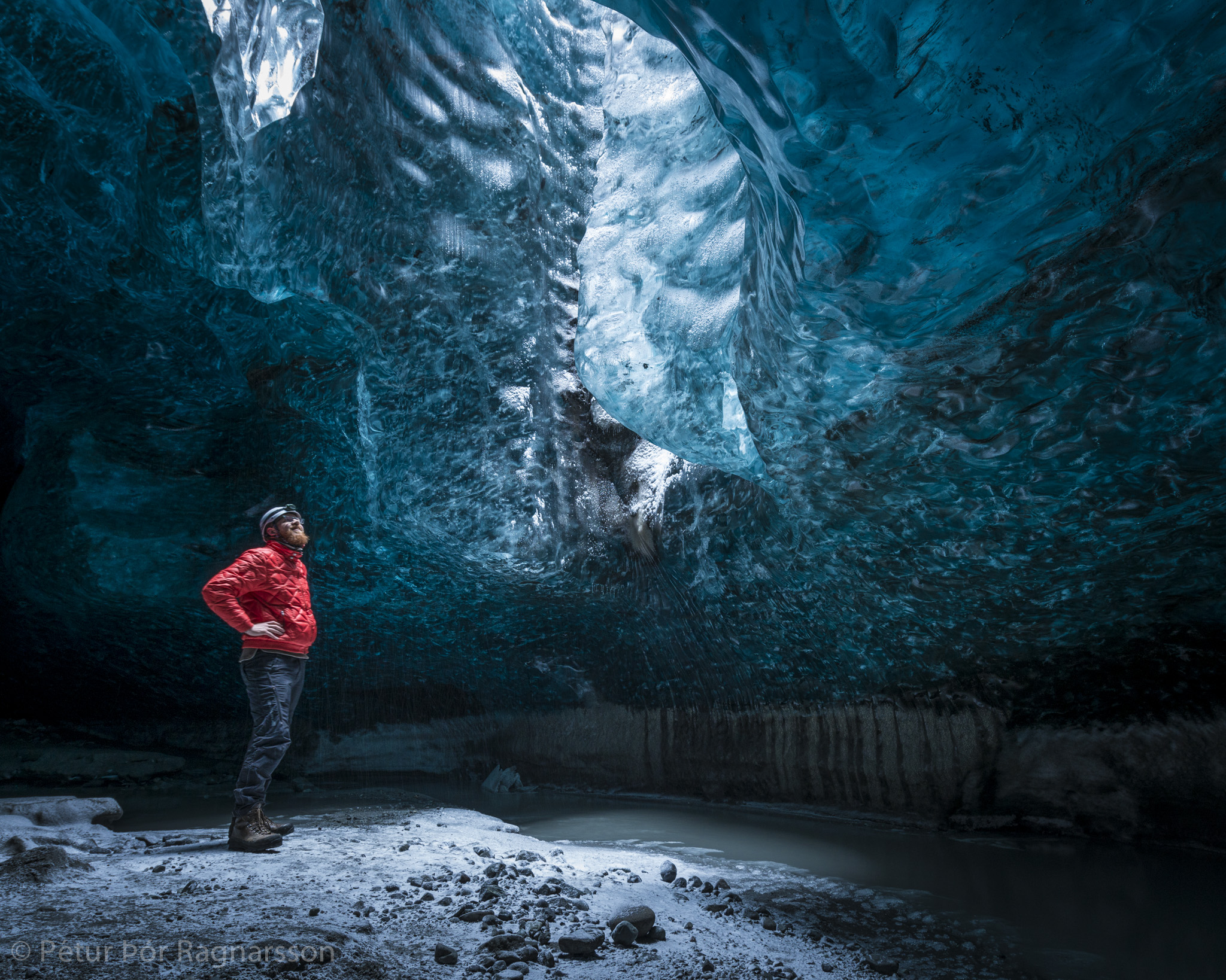 Me in an Icecave