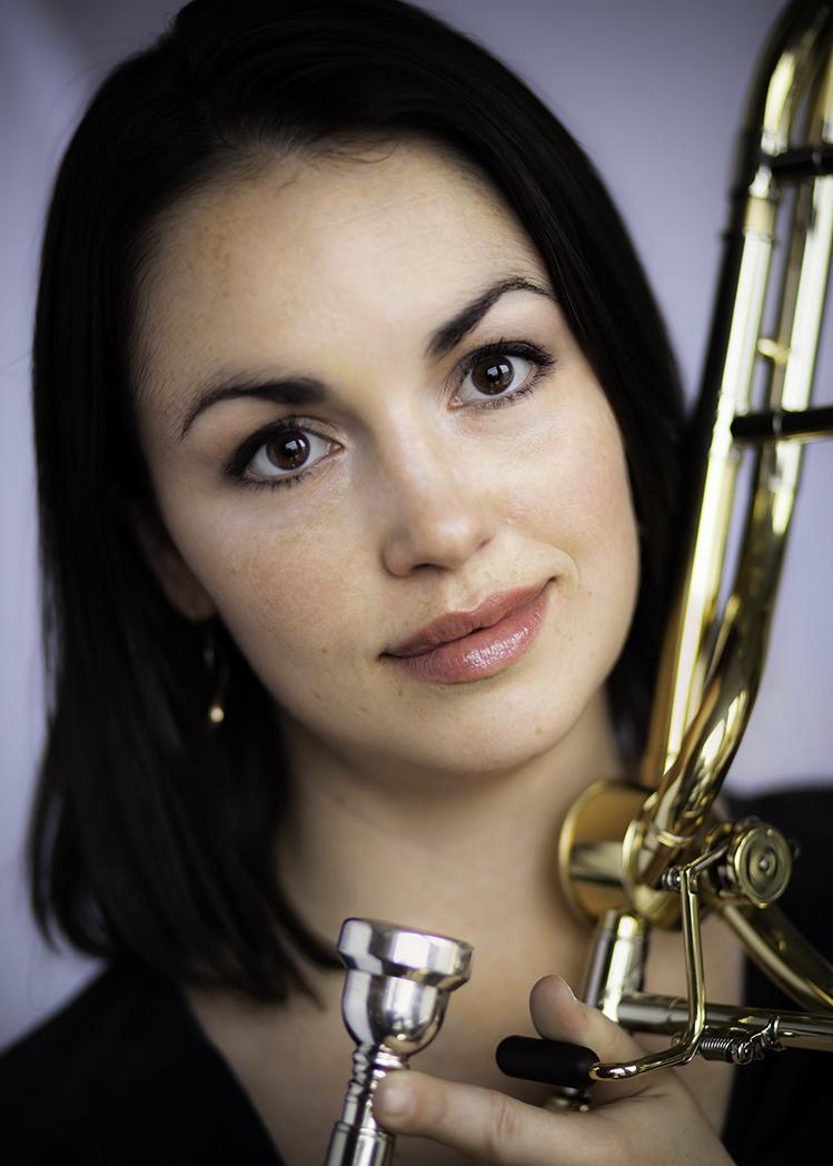 Nicole Abissi - Trombone   Photo credit - David Finlayson Photography