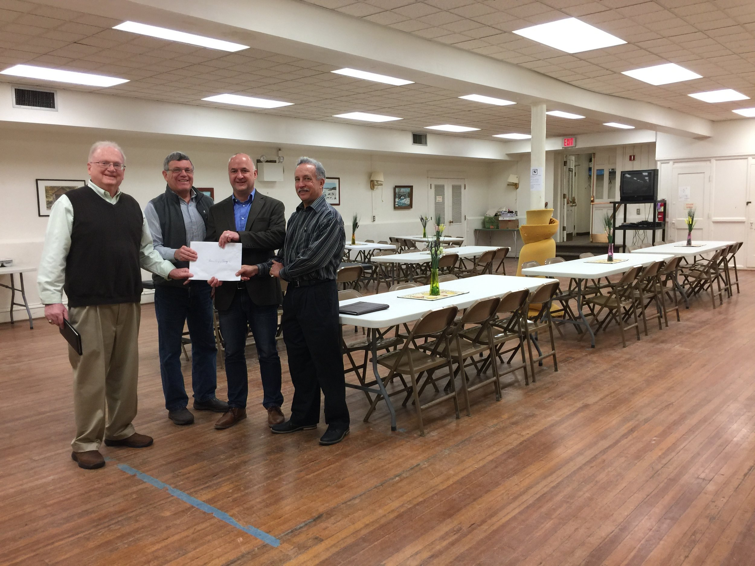 The Laros Foundation is pleased to support the efforts of Bethlehem Sheltering,Inc. in providing overnight shelter in one location effective 2017.