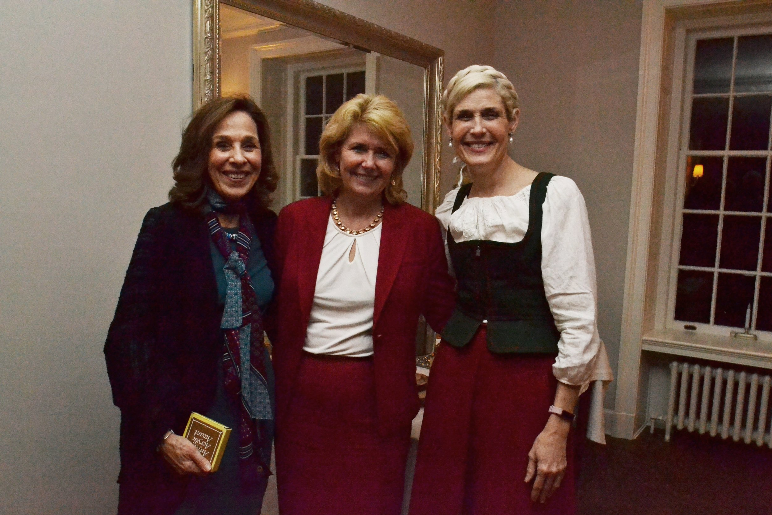 L-R Carol Carpenter Senior Major Gifts Officer Good Shepherd, Anne Baum Vice President Capital Blue Cross and Laura Bennett Shelton Vice Chair R.K.Laros Foundation