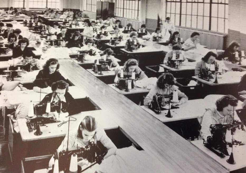 The R.K.Laros Silk Mills Operated from 1919 to 1957 in Bethlehem and Kingston, Pennsylvania