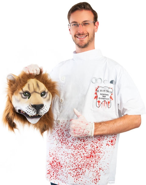 Costumeish - And yes, that's the dentist who killed Cecil the Lion