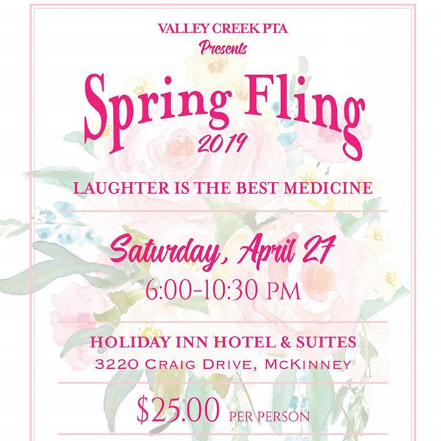Grab your tickets for the spring fling!
