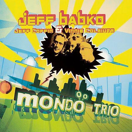 Mondo Trio, 2006    w/ Vinnie Colaiuta, Jeff Coffin   recorded & mixed by  Niko Bolas   AbstractLogix   click here to purchase Mondo Trio