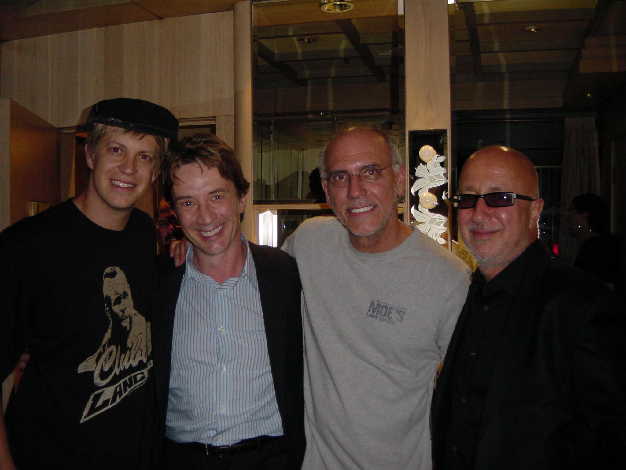 w/ Martin Short, Larry Carlton & Paul Shaffer Blue Note NYC 2005