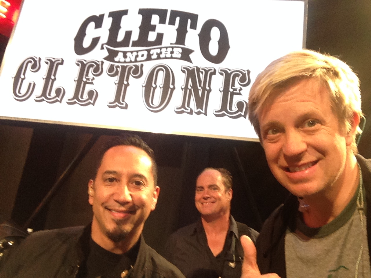 "1/2 of the Cletones: w/ Cleto & Jimmy Earl Austin, TX ""Jimmy Kimmel Live"" 2014"