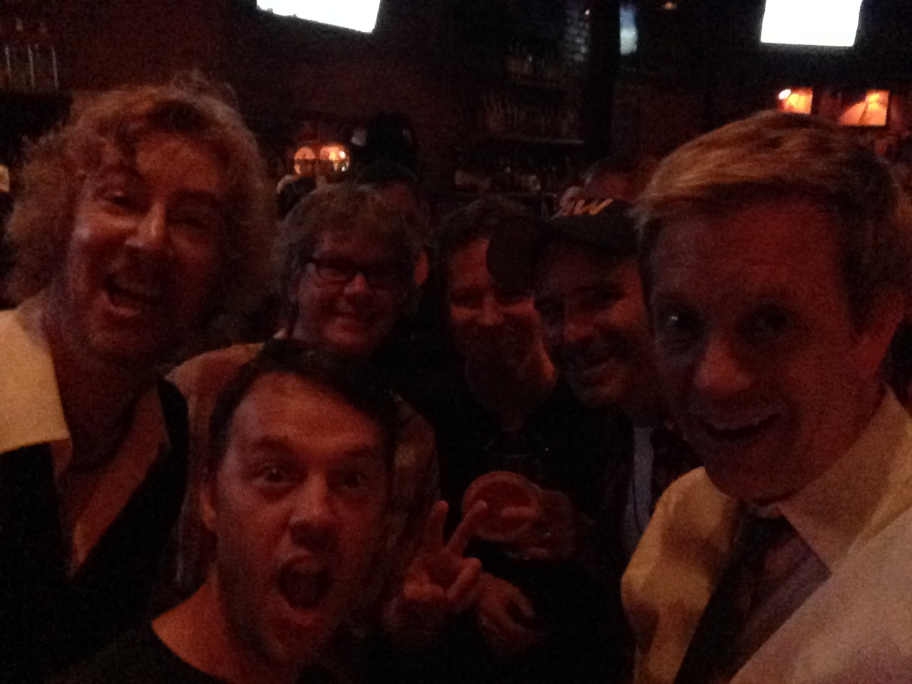 Interpreting Peter Gabriel Night @ Molly Malones, LA w/ Lyle Workman, Blair Sinta, John Paterno, Matt Rohde, Marcus Wolf 2014
