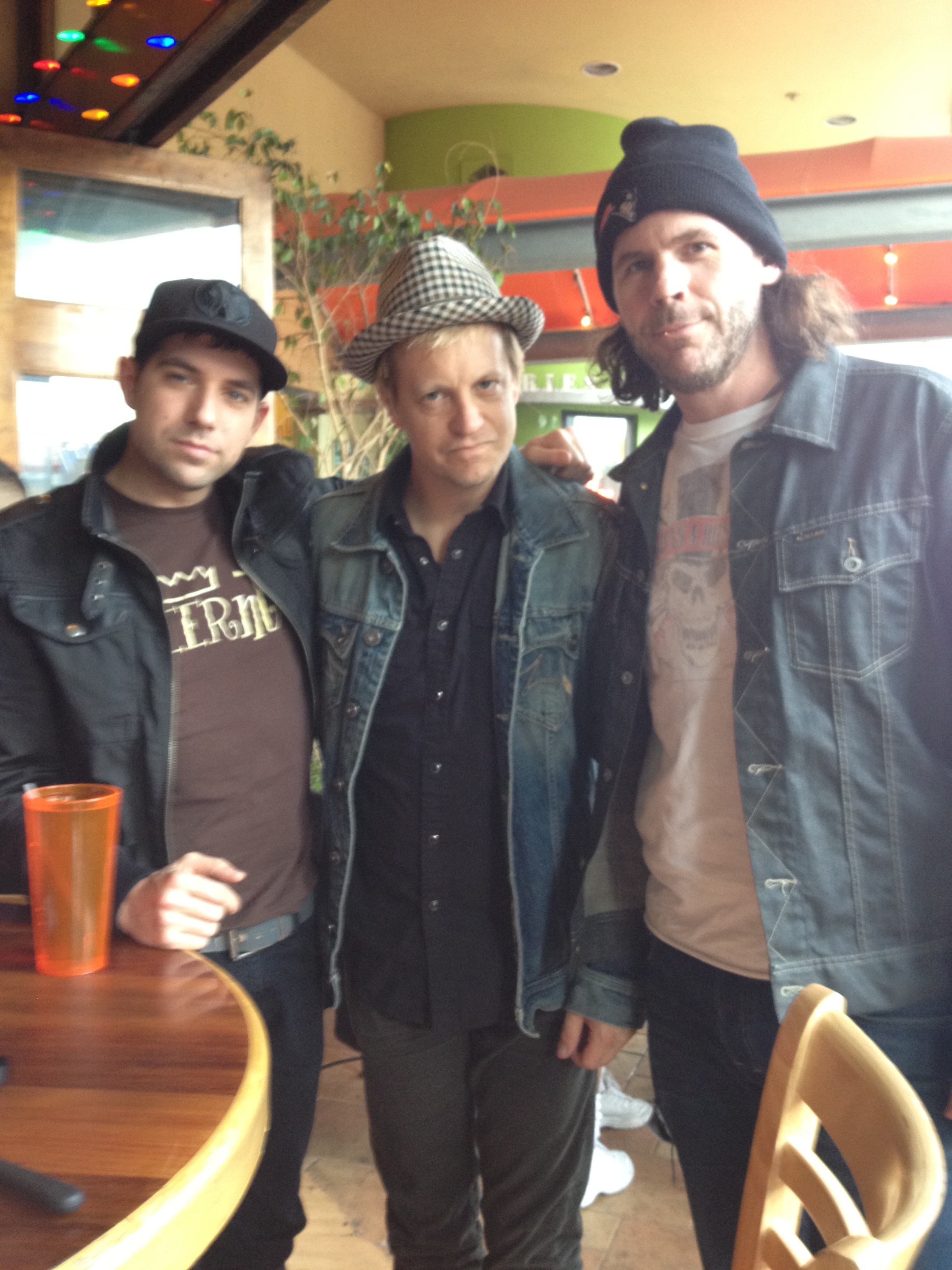 w/ the most fearless rhythm section, Mark Guiliana & Tim Lefebvre @ Hooters, Santa Monica 2012