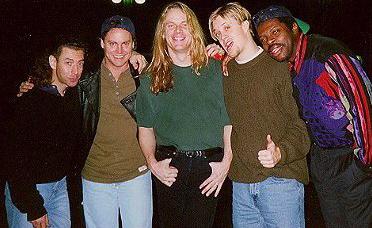 Simon Phillips Symbiosis tour, Jan. 1997 w/ Simon, Jimmy Earl, Andy Timmons & Wendell Brooks