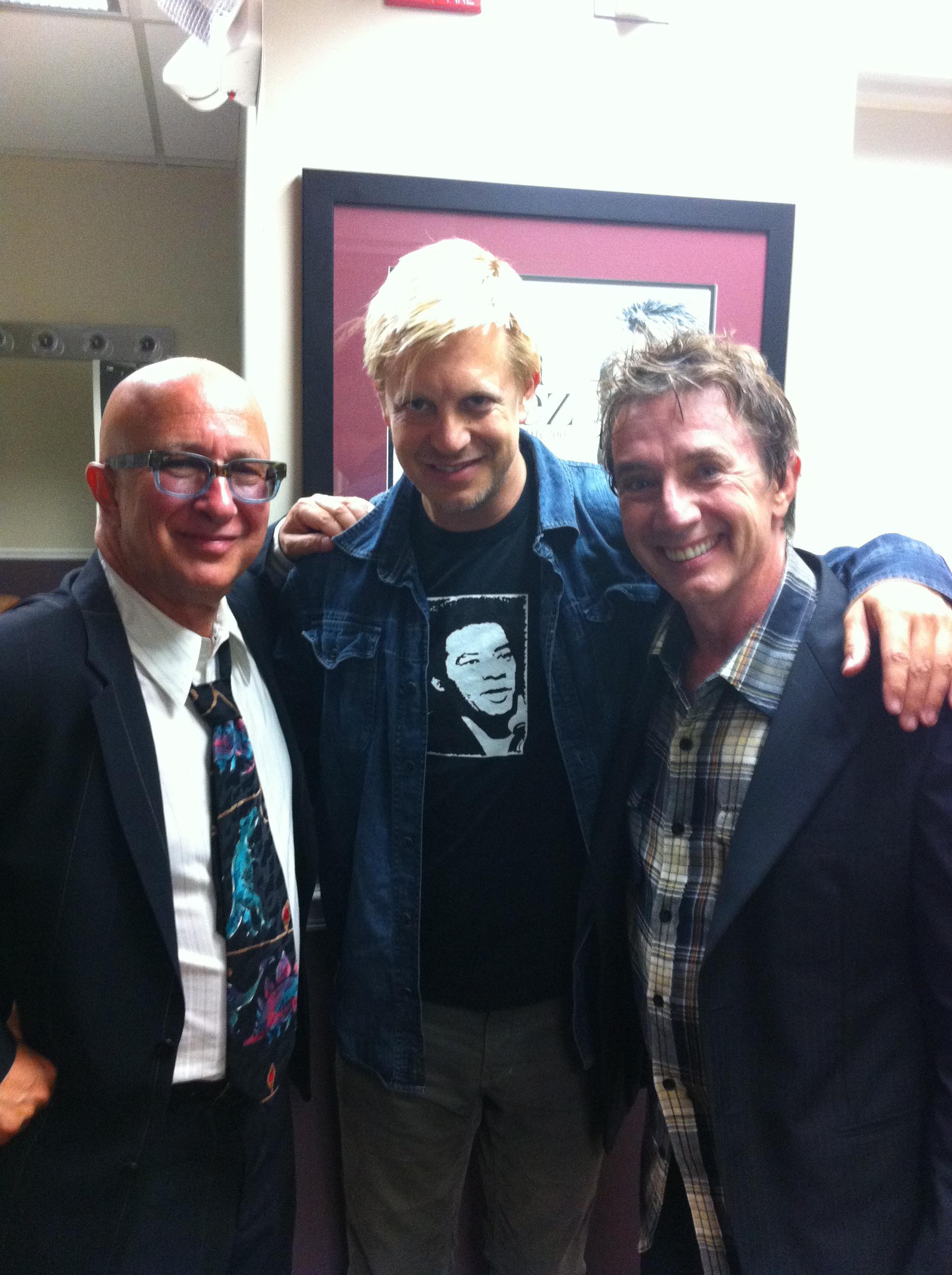 w/ Paul Shaffer & Martin Short after concert