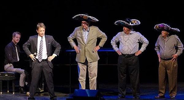 """The Three Amigos bit"" w/ Martin Short and ""3 random guys"""
