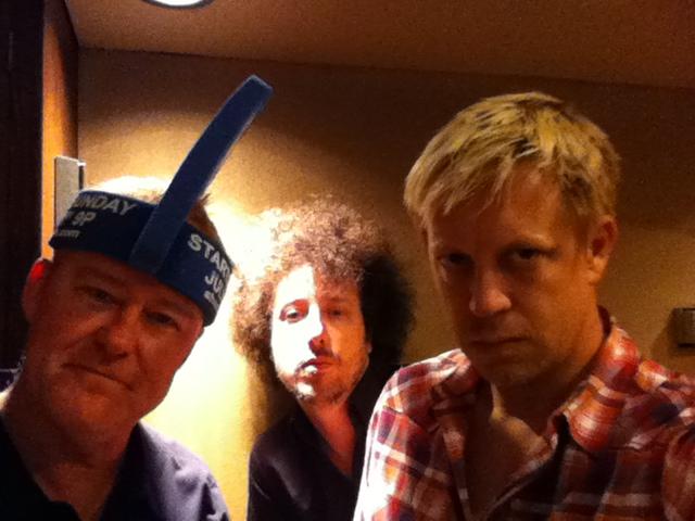 """w/ """"Shark Week"""" Tim Pierce & Justin Meldal Johnsen @ Sunset Sound 2012"""
