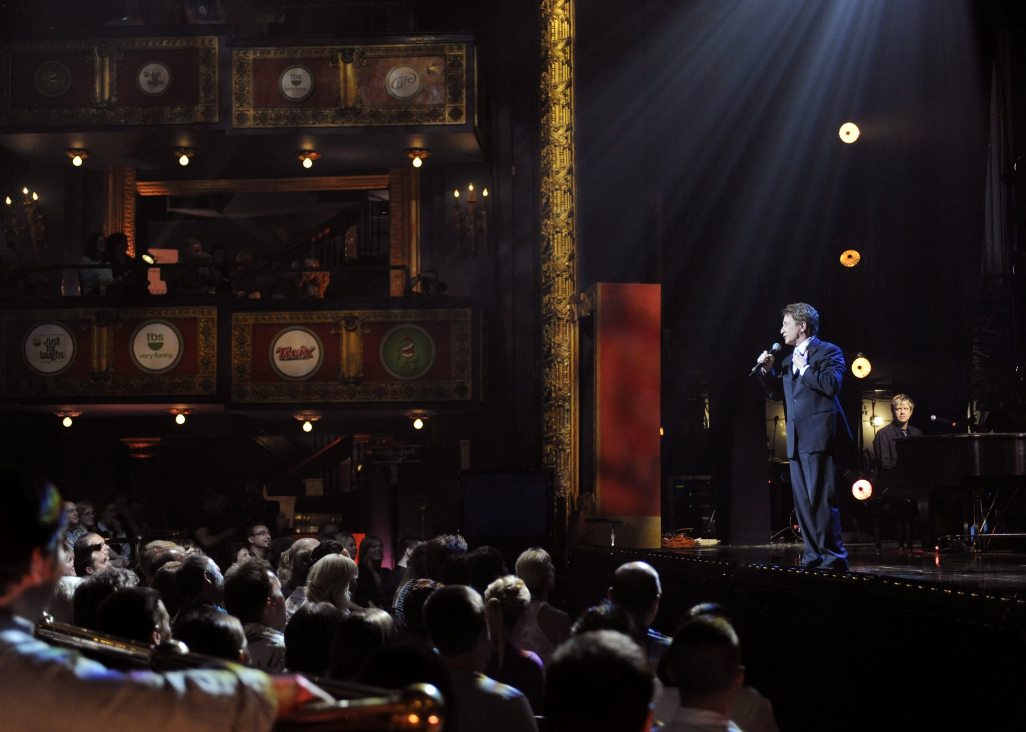 """w/ Martin Short, """"Just For Laughs"""" Chicago 2009"""