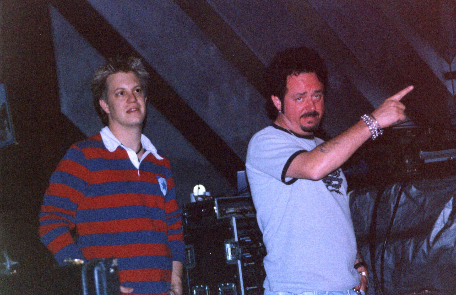 w/ Steve Lukather; Doves of Fire tour, Japan 2001