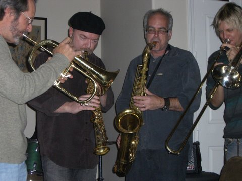 """the Simi Valley Horns"" w/ Walt Fowler, Brandon Fields & Mitch Forman"