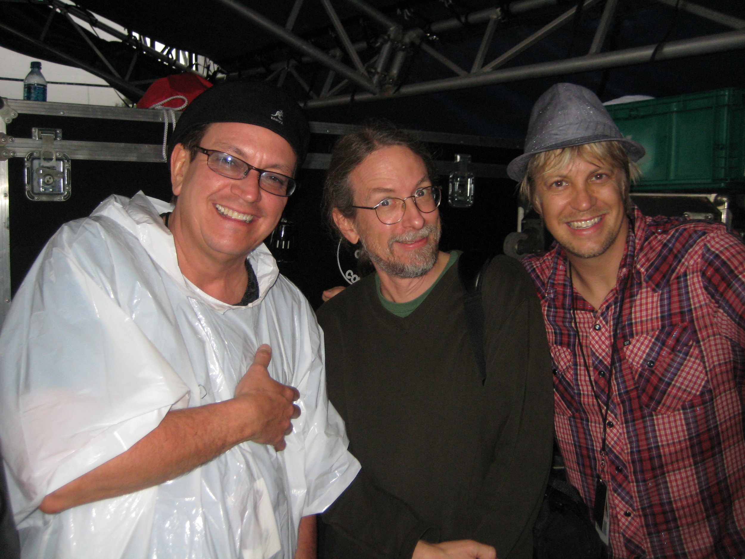 w/ two of Minneapolis' finest: Ricky Peterson & Jimmy Johnson, Memphis Mud, 2009
