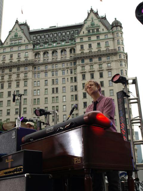 shooting CBS This Morning w/ Sheryl Crow, Midtown Manhattan 2010