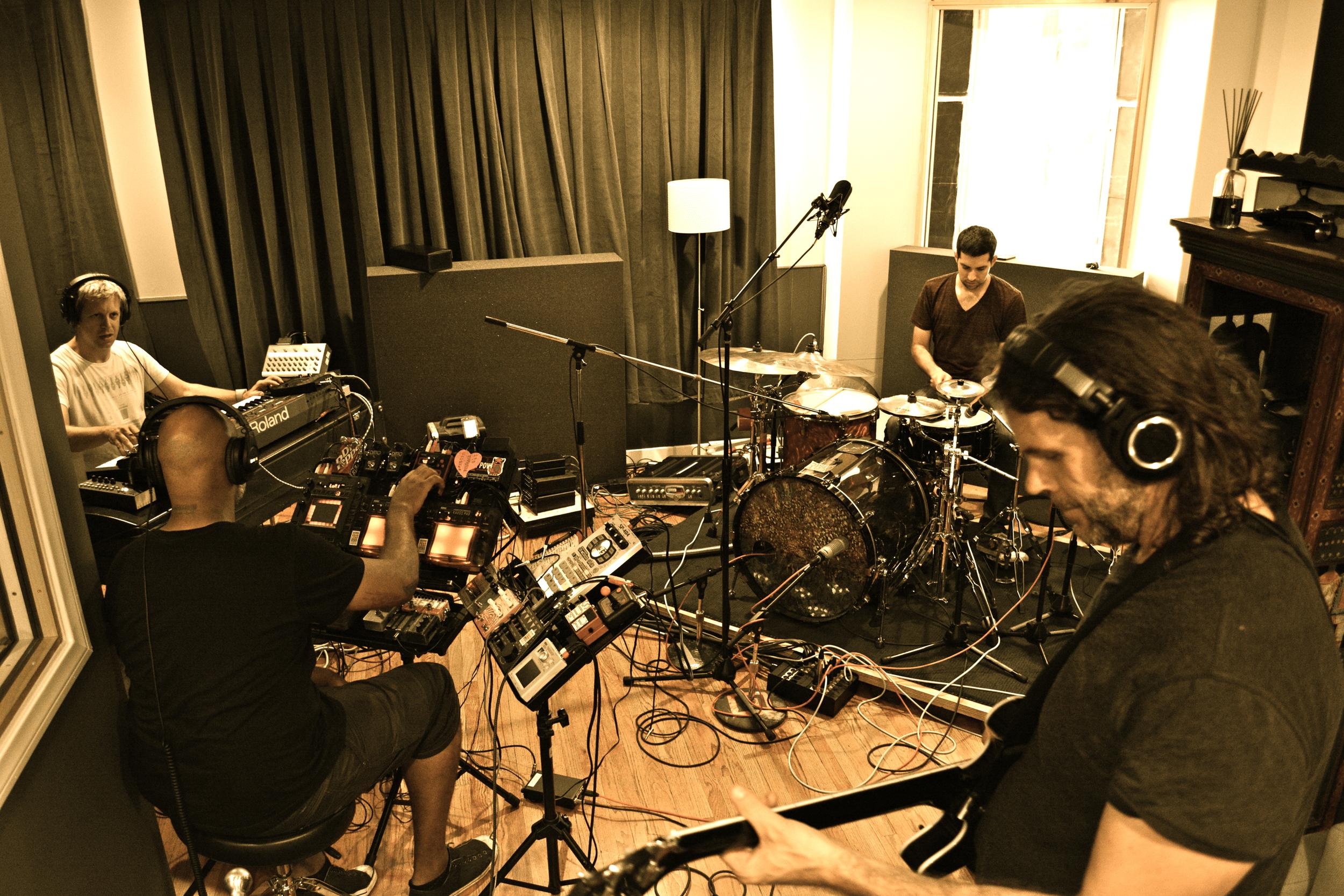 w/ Troy Ziegler, Mark Guiliana, Tim Lefebvre making Beat Music LA Aug. 19, 2013