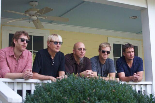 BAND OF OTHER BROTHERS L-R: Nir Felder (guitar), Will Lee (bass), Jeff Coffin (woodwinds), Jeff Babko (keys), Keith Carlock (drums).