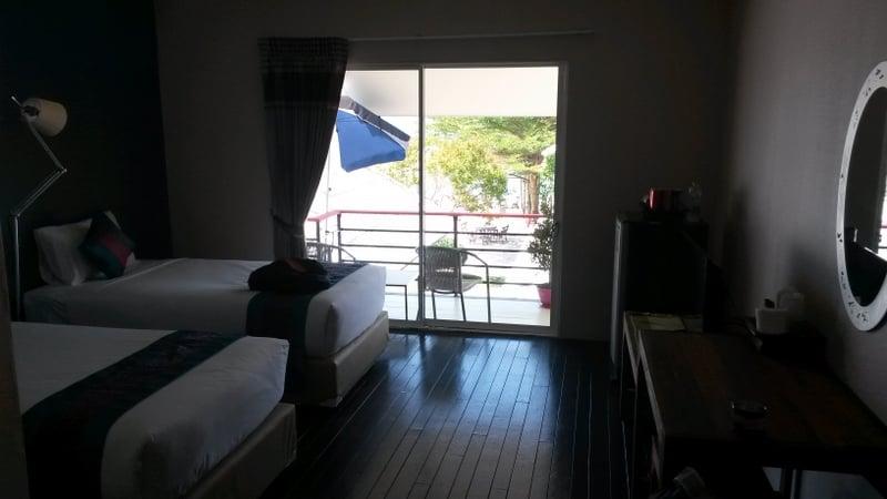 """Aufgrund der vielen """"Haustiere""""bat ich um ein besseres Zimmer und bekam dann das hier mit Balkon mit Meerblick :D"""
