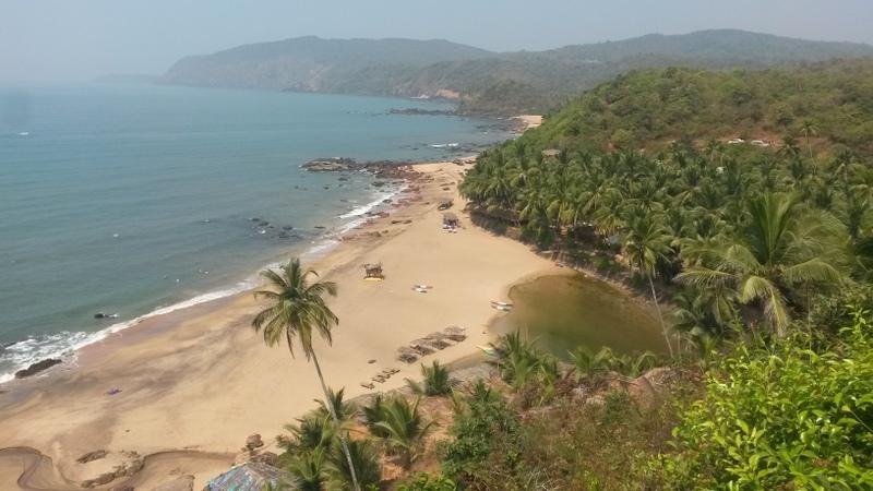 Und dann kamen wir hier vorbei! Das Paradies namens Cola Beach. Hier verbrachten wir später auch noch einen Nachmittag vor unserer Rückfahrt.