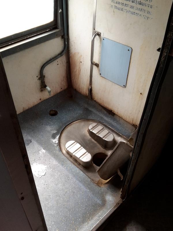 Die Toilette!