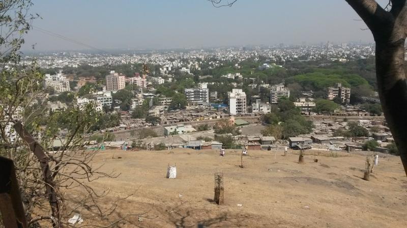 Ausblick vom Tempelhügel