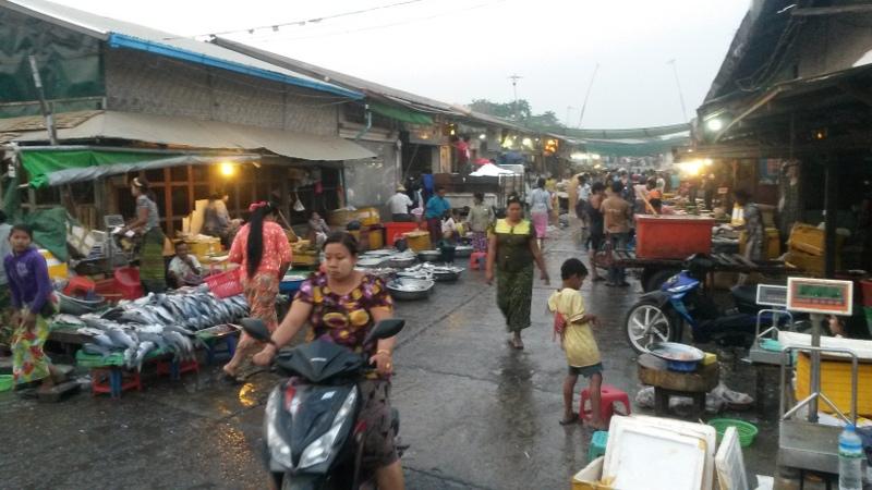 nahegelegener Fischmarkt