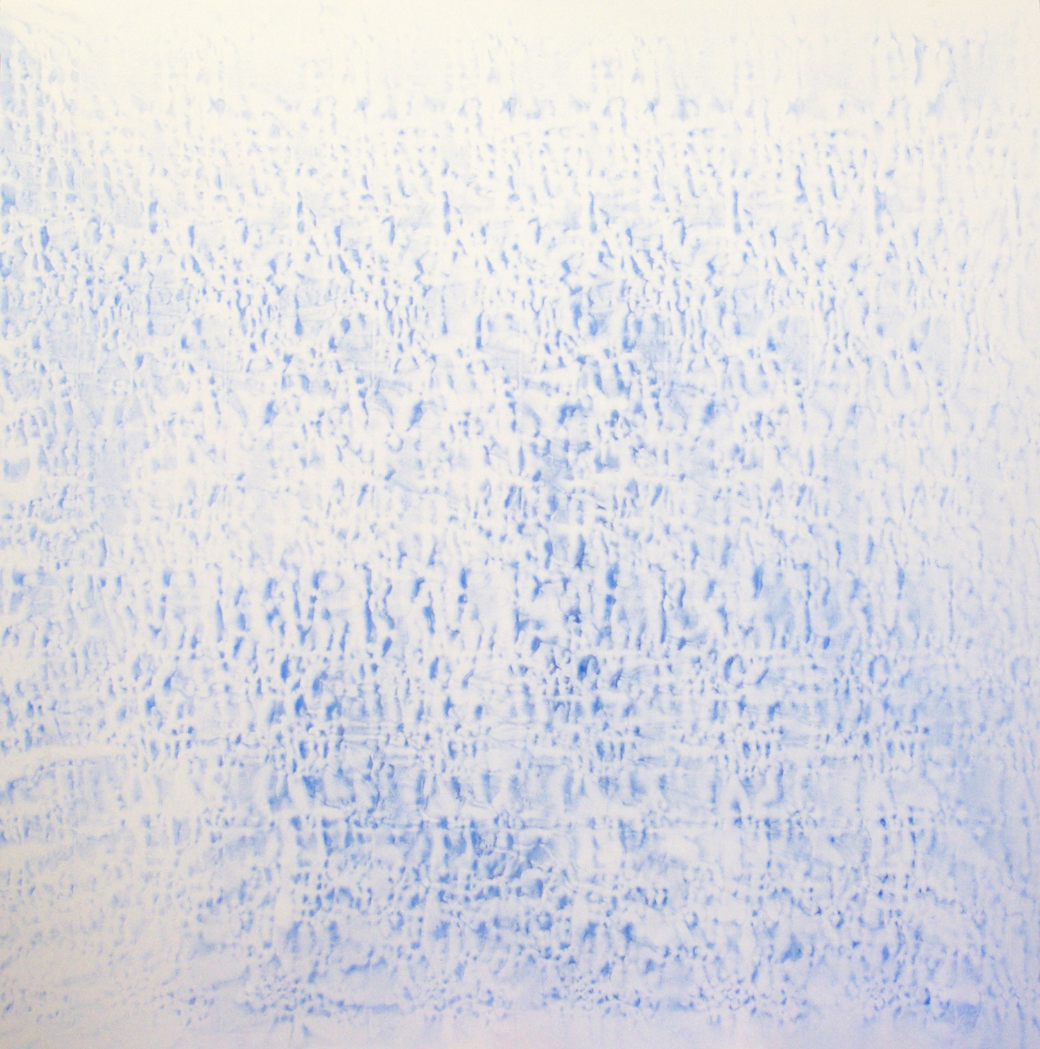 2007-2011  Light #1246 Oil, alkyd, wax on canvas 78x 78 inches  © Vicky Colombet, all rights reserved.