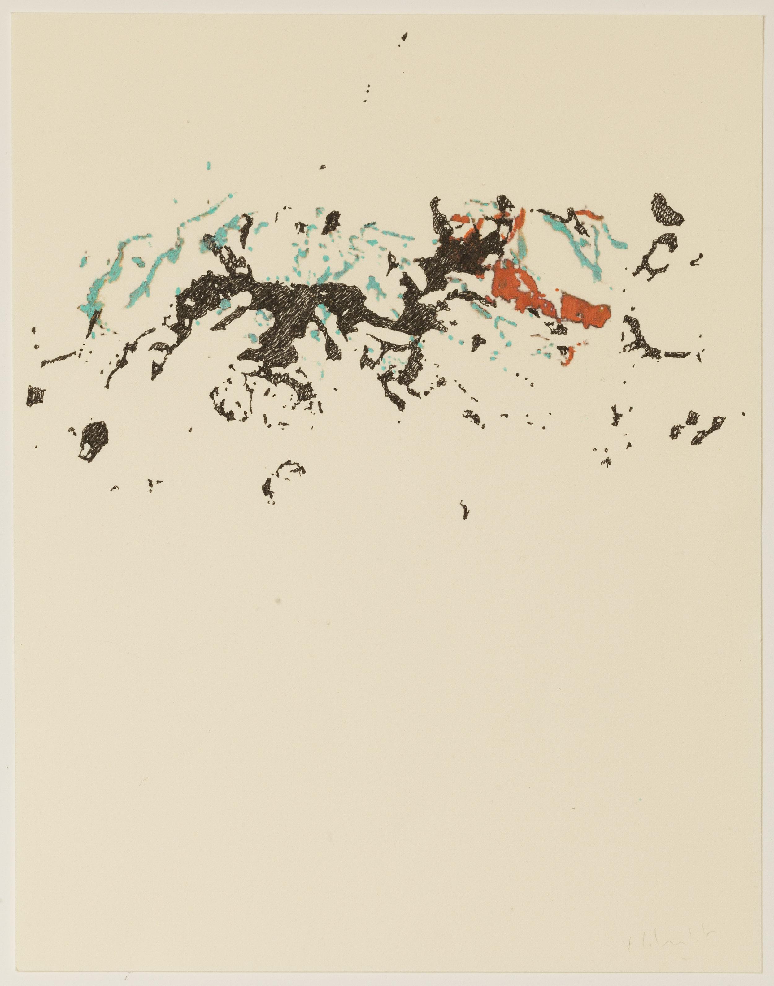 """Très Riches Heures- November""  2015 Coloring pencils on Rives Dimension: 10""1/2 x 8""1/4 — 27 x 21 cm"
