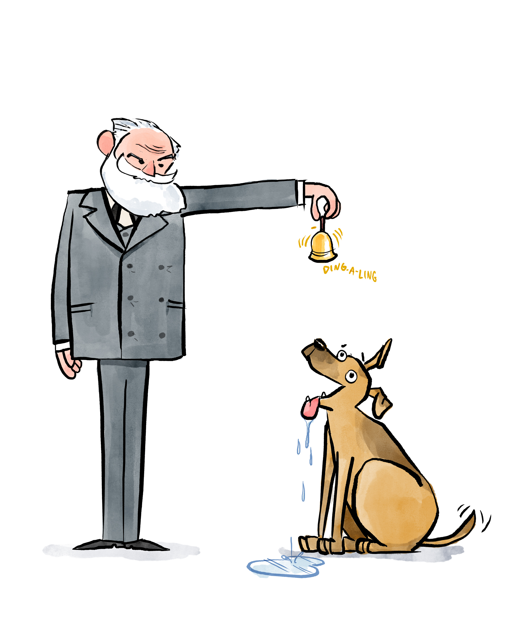Ivan Pavlov (& Pup)