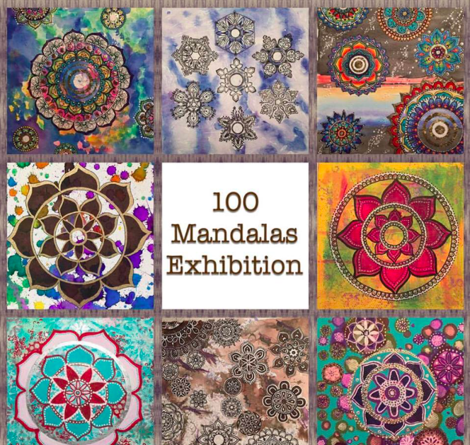 RUTH MEAGHER : 100 MANDALAS EXHIBITION