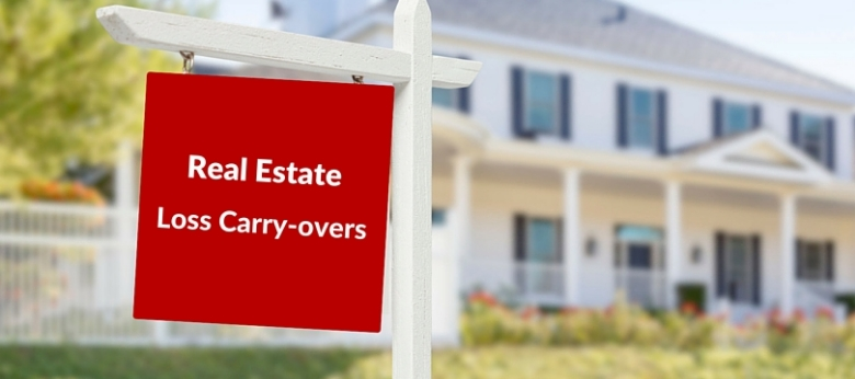 real estate loss carry-over