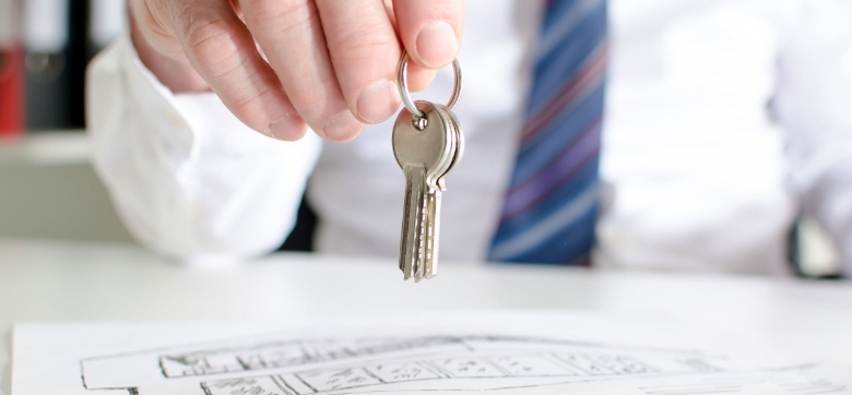 take title to a 1031 replacement property