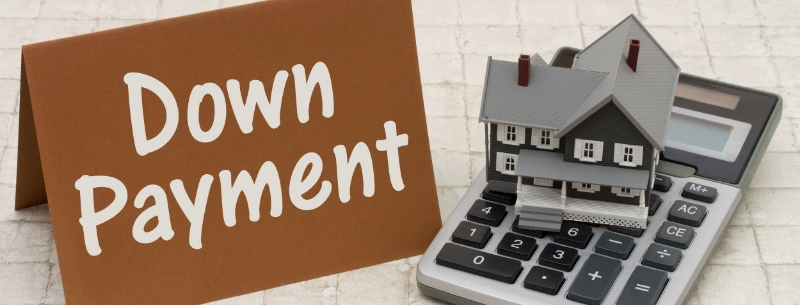down payment on replacement property