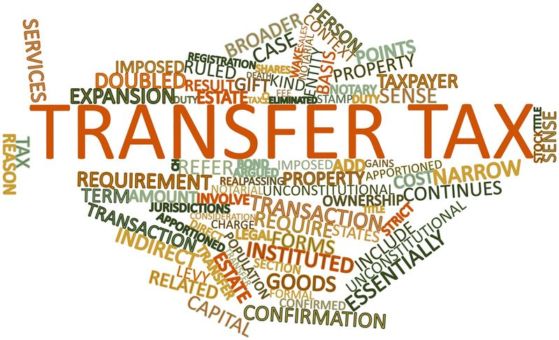 Transfer Tax in a 1031 Exchange