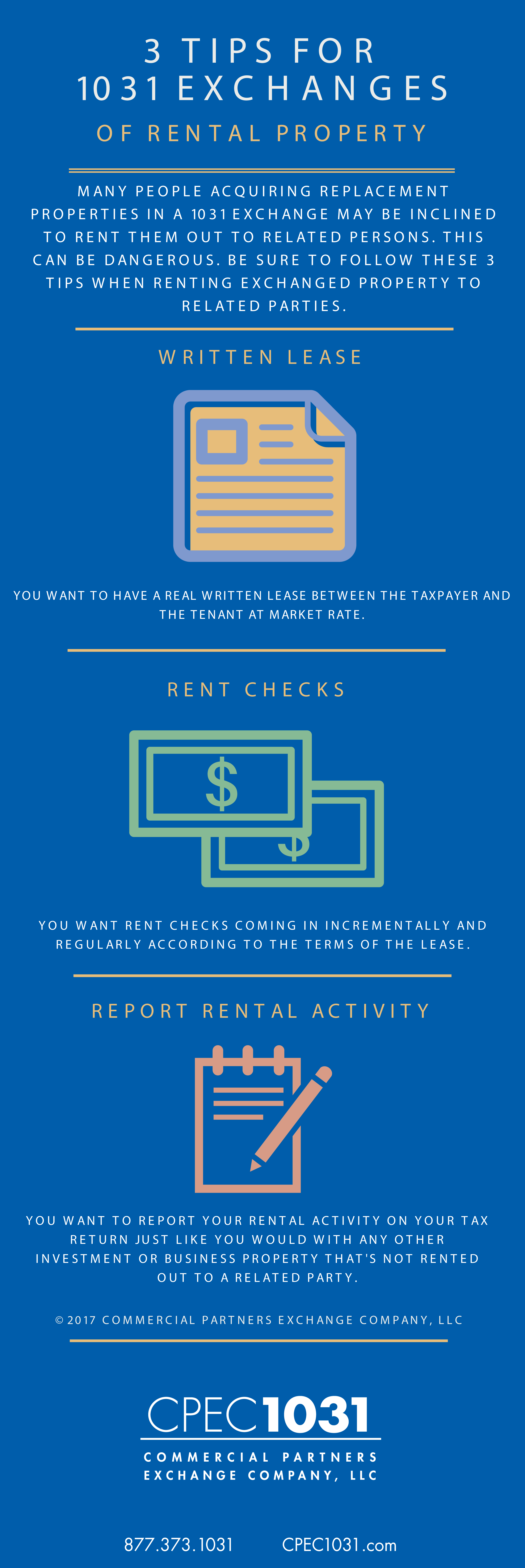 1031 Exchange Tips for Rental Property
