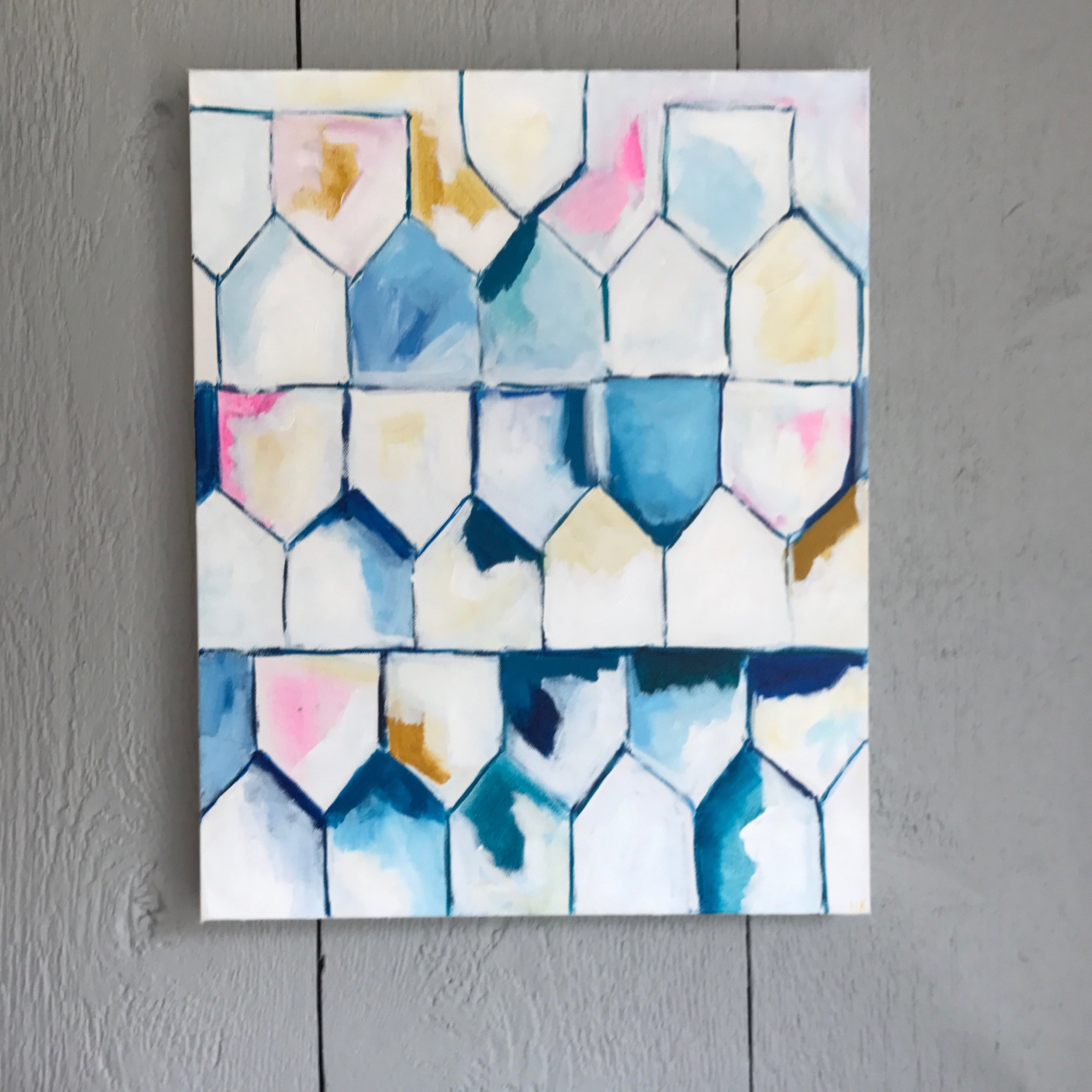 "COZY 16x20"" acrylic on canvas"