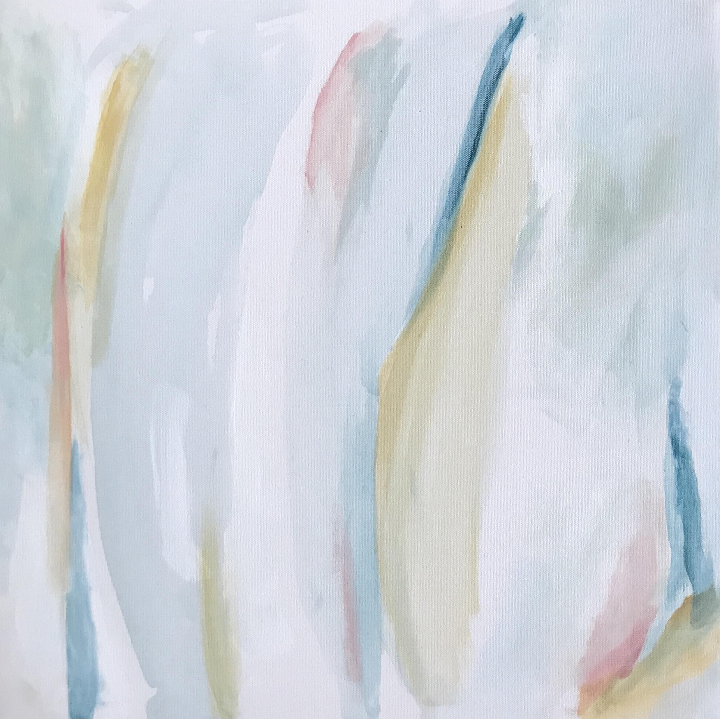 """Lightened"" 1/30 24x24"" acrylic on canvas"