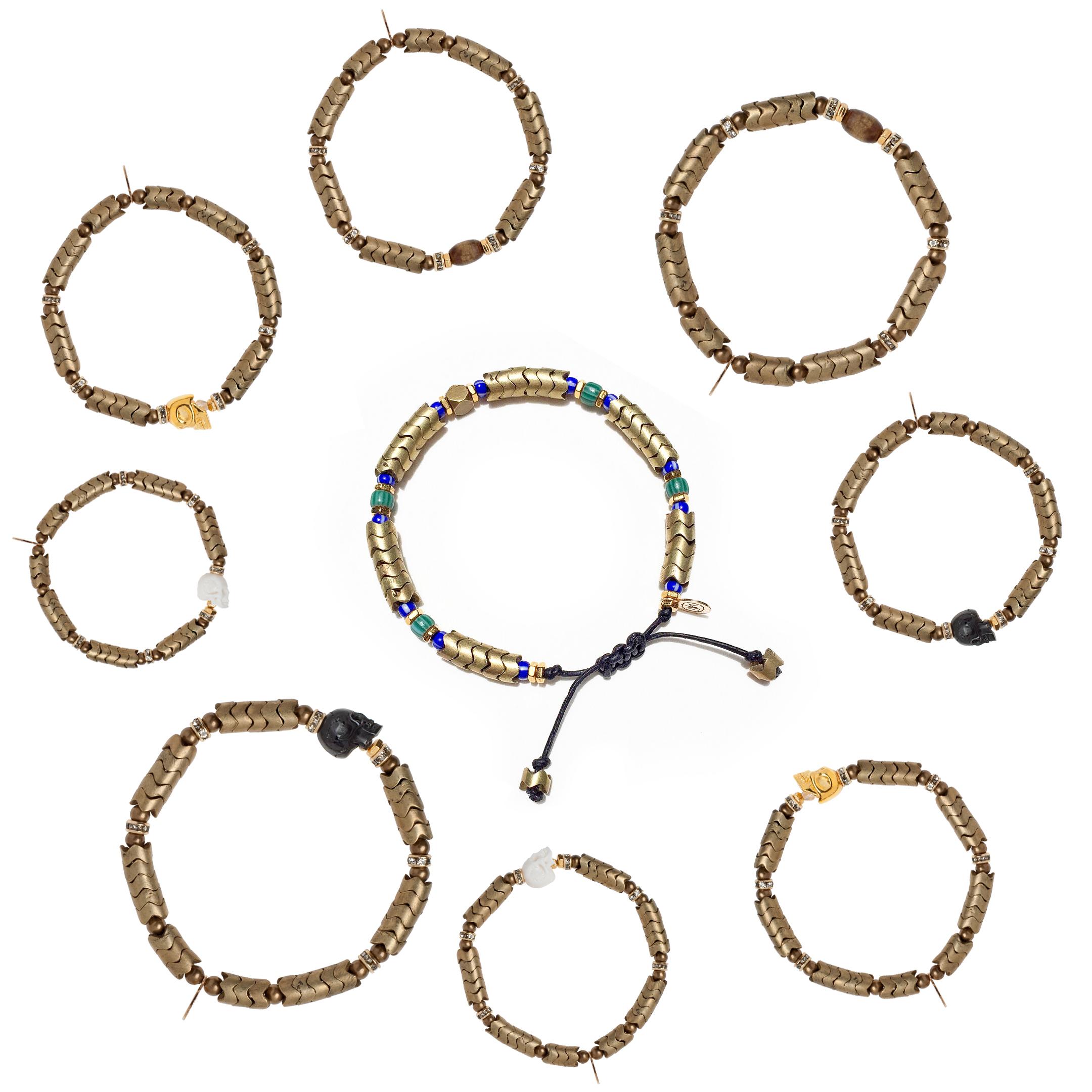 Jessy Made Snake Vertebrae Bracelets
