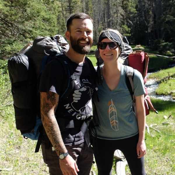 My lovely and very talented wife,  Kristen , and I.