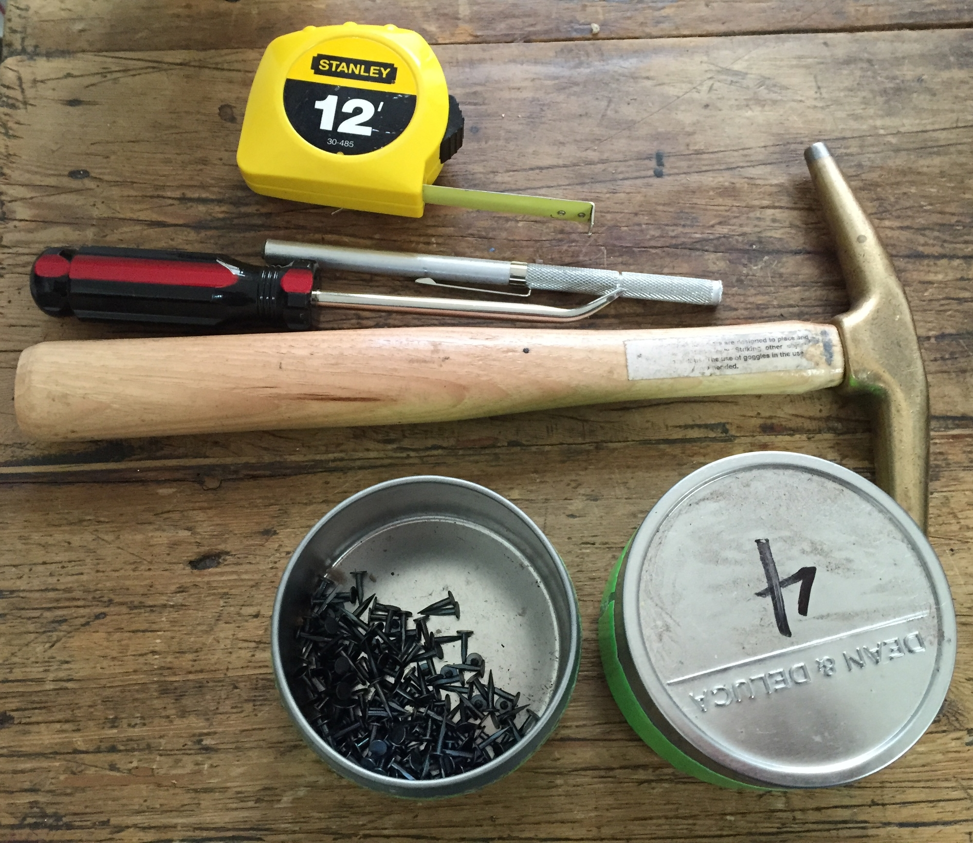 my tools.