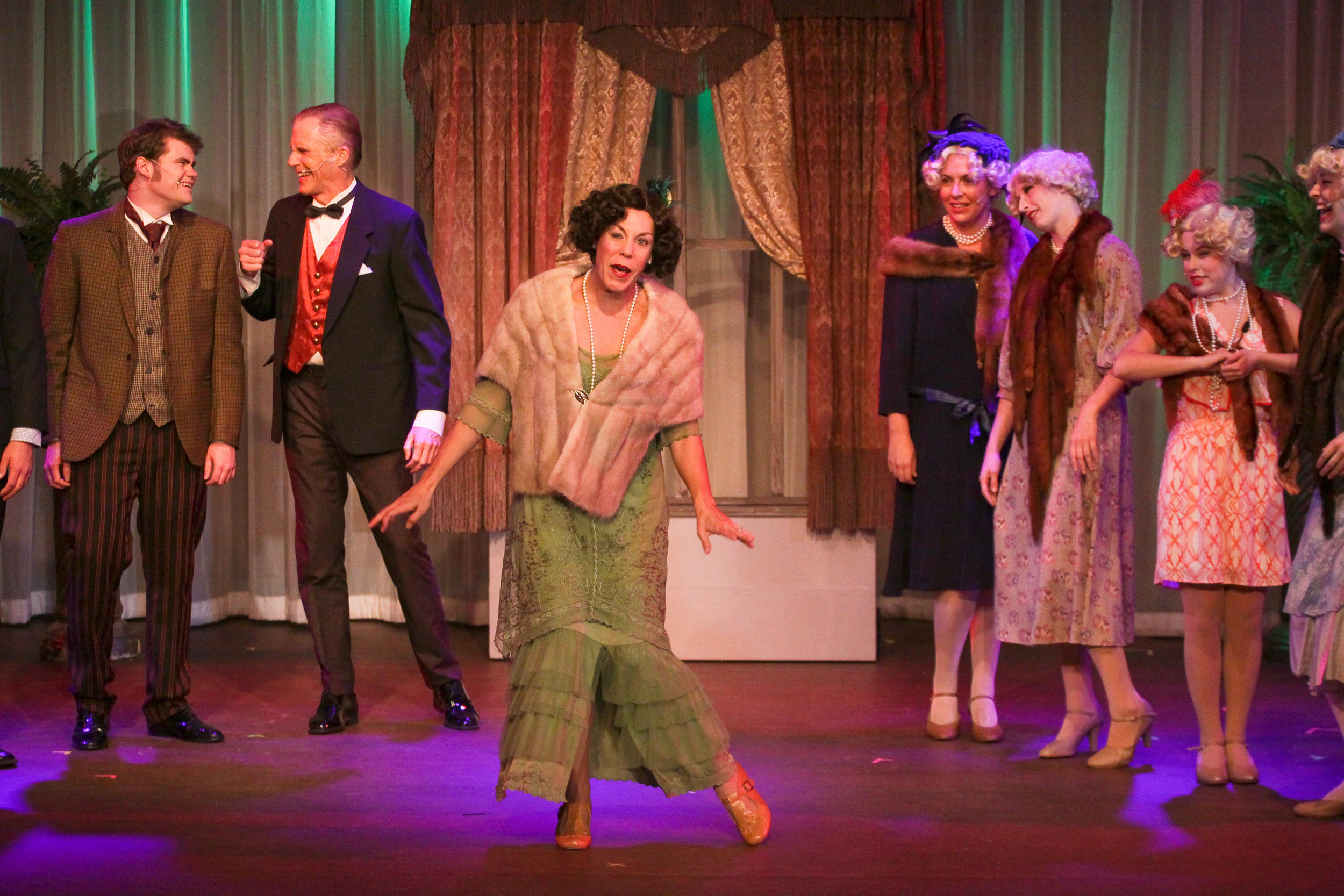 """COURTESY // 6th Street Playhouse   Actress Taylor Bartolucci flawlessly executed her performance as the quirky Fanny Brice in 6th Street Playhouse's rendition of """"Funny Girl."""