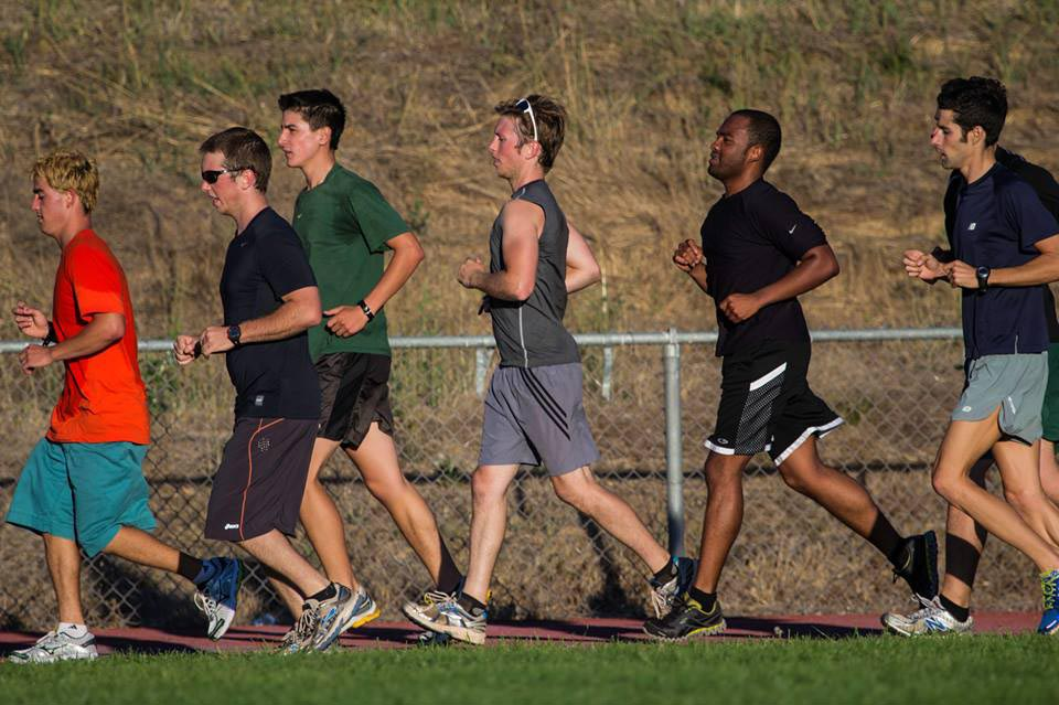 COURTESY // Campus Recreation   Club members compete in running, swimming and biking.