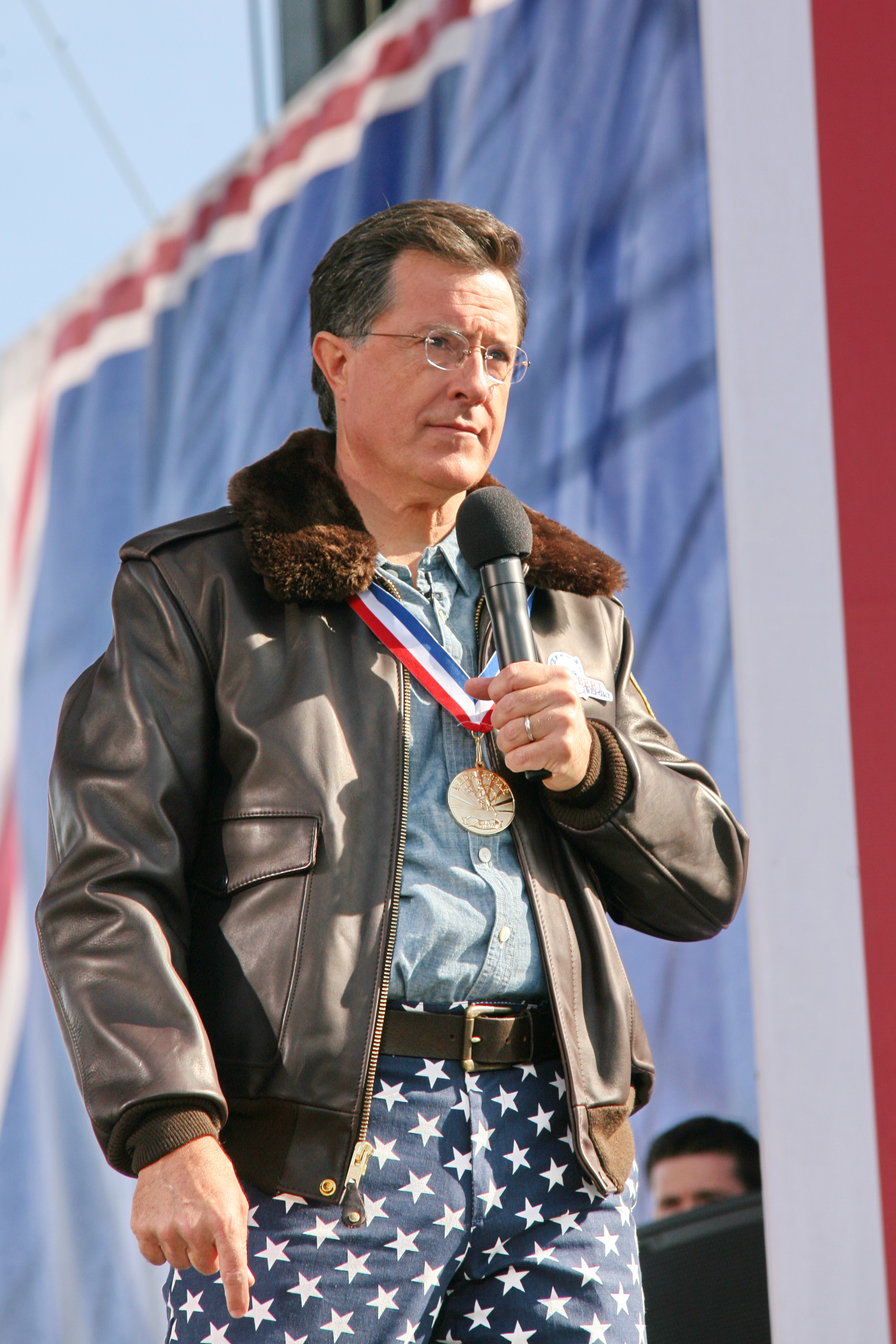 """facebook.com   Stephen Colbert will be taking over """"The Late Show"""" from David Letterman starting in 2015."""