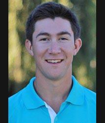 COURTESY // SSU Athletics   Justin Shluker is a freshman on the men's golf team.