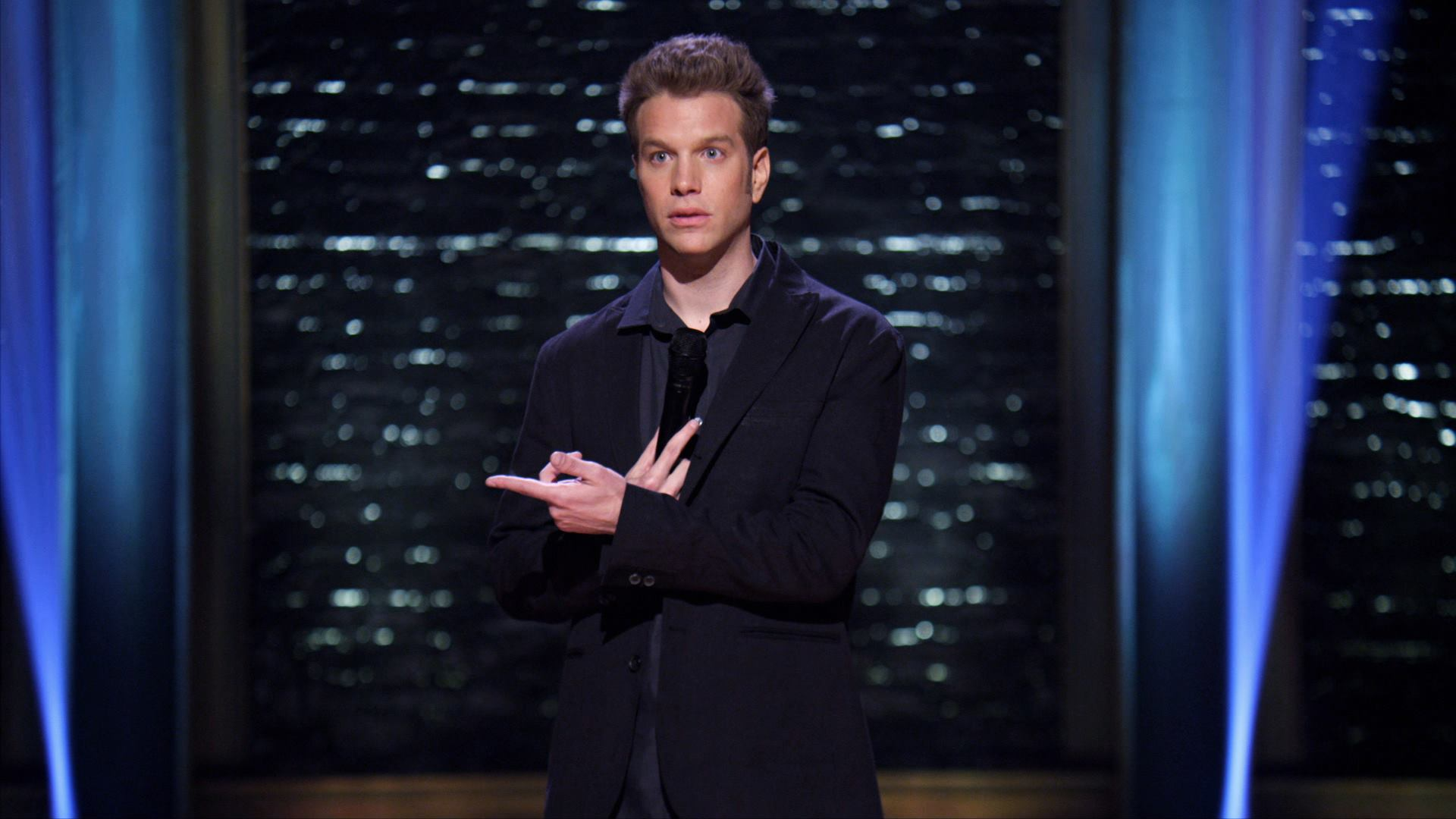 facebook.com   Comedian Anthony Jeselnik didn't hold back any punches when performing at Weill Hall, making sure every student and audience member got theirs.