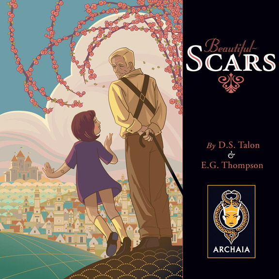 """COURTESY // Archaia Entertainment     """"Beautiful Scars"""" by Durwin S. Talon and E. Guin Thompson features a girl named Maddie who illustrates the stories of her grandfather."""